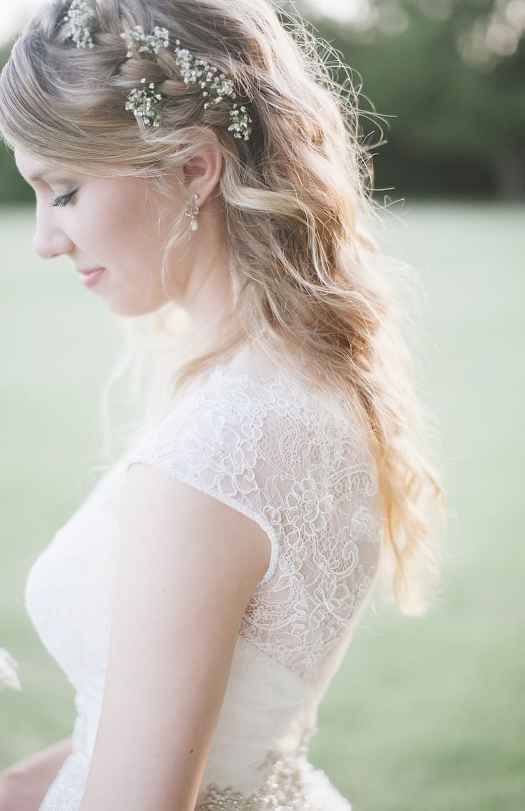wedding hair beads with baby beath | Veil, Wedding and Wedding