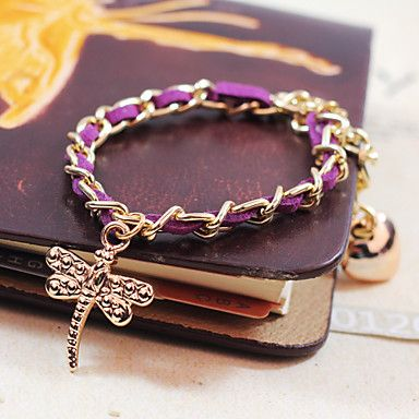 Unisex Chain Bracelet Silver / Alloy / Leather / Rope Non Stone - USD $ 2.99