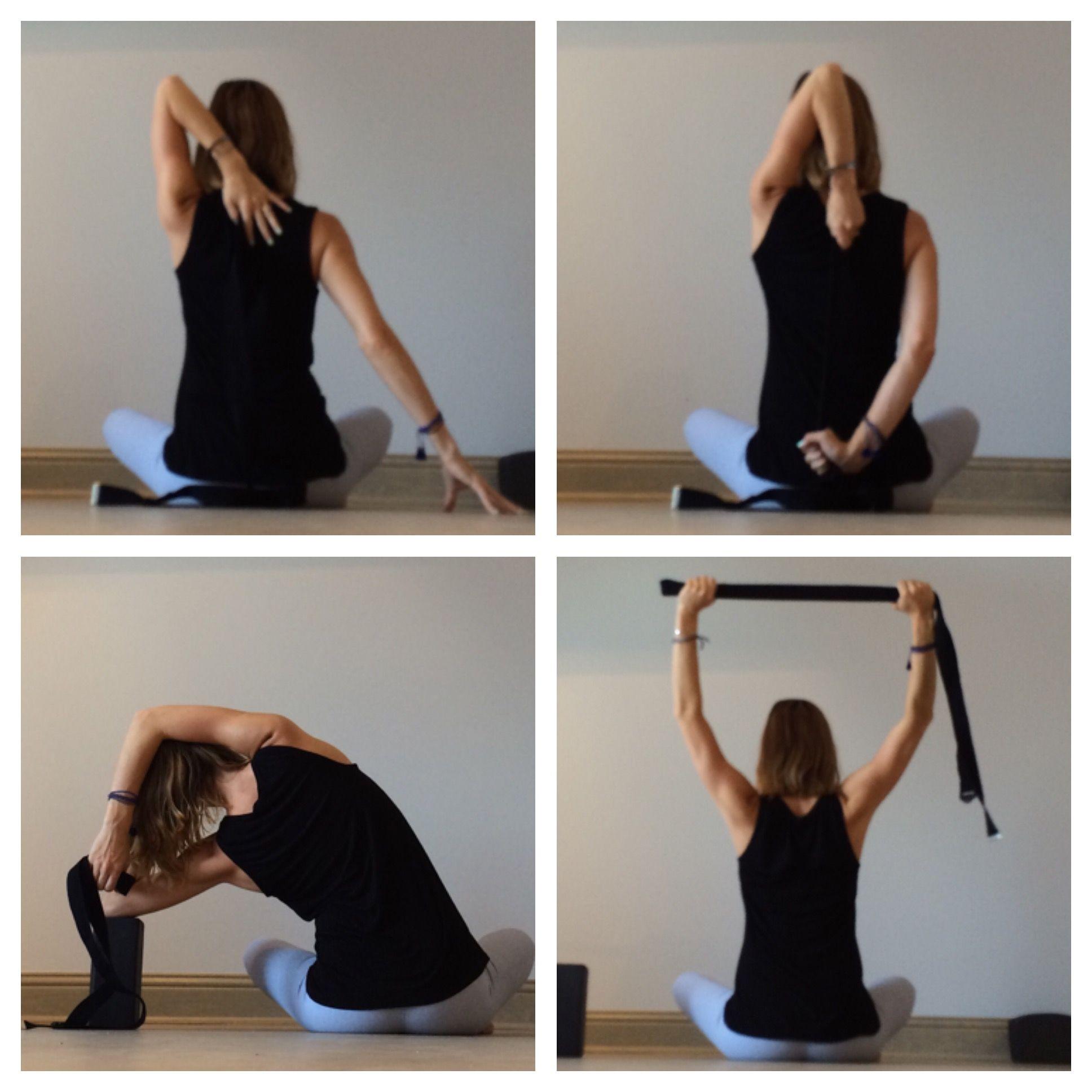 Yin Yoga Strap Sequence Yin Yoga Yin Yoga Sequence Yoga Strap
