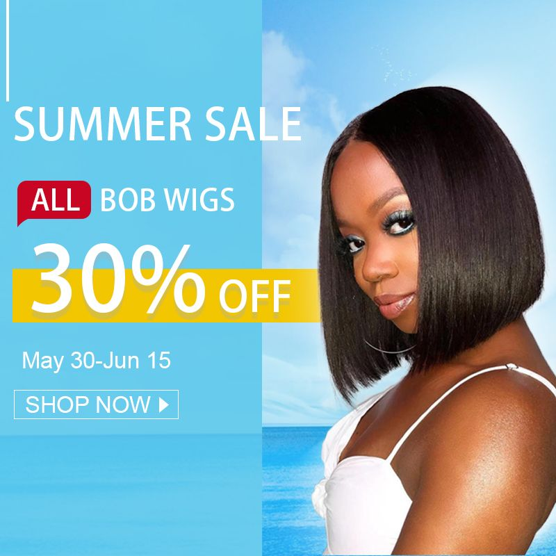 💯 #premierlacewigs #SummerSale 🎉30% Off All Bob Wigs #wigs #lacewigs #lacefrontalwigs #humanhairwigs #hair #beautifulhair #summerhair #bobhair #beauty #hairstyle #protectivestyle