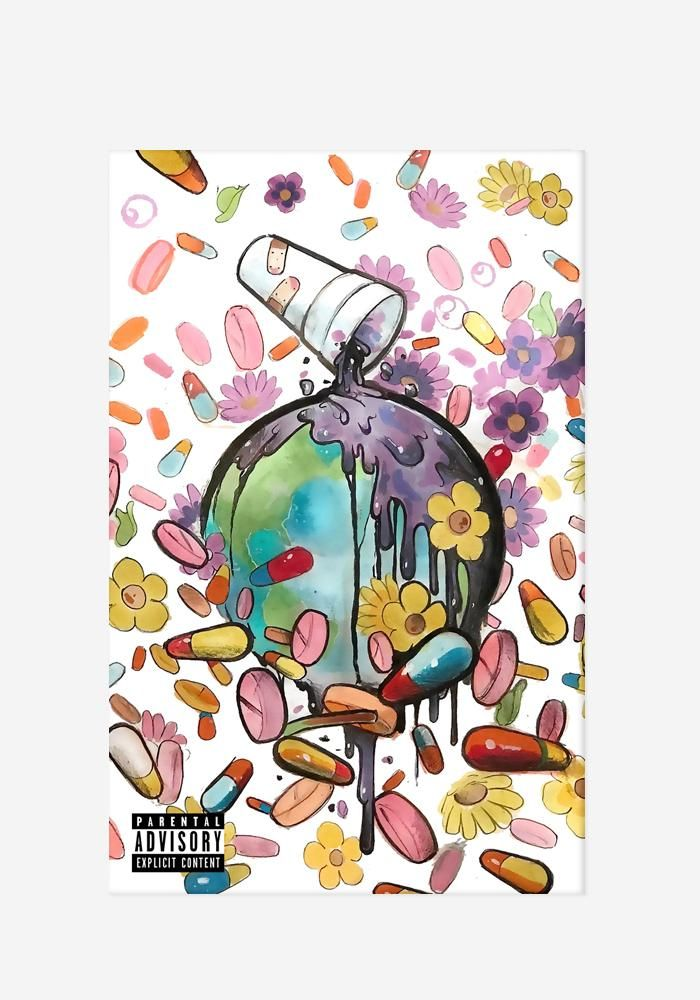 WRLD On Drugs Cassette