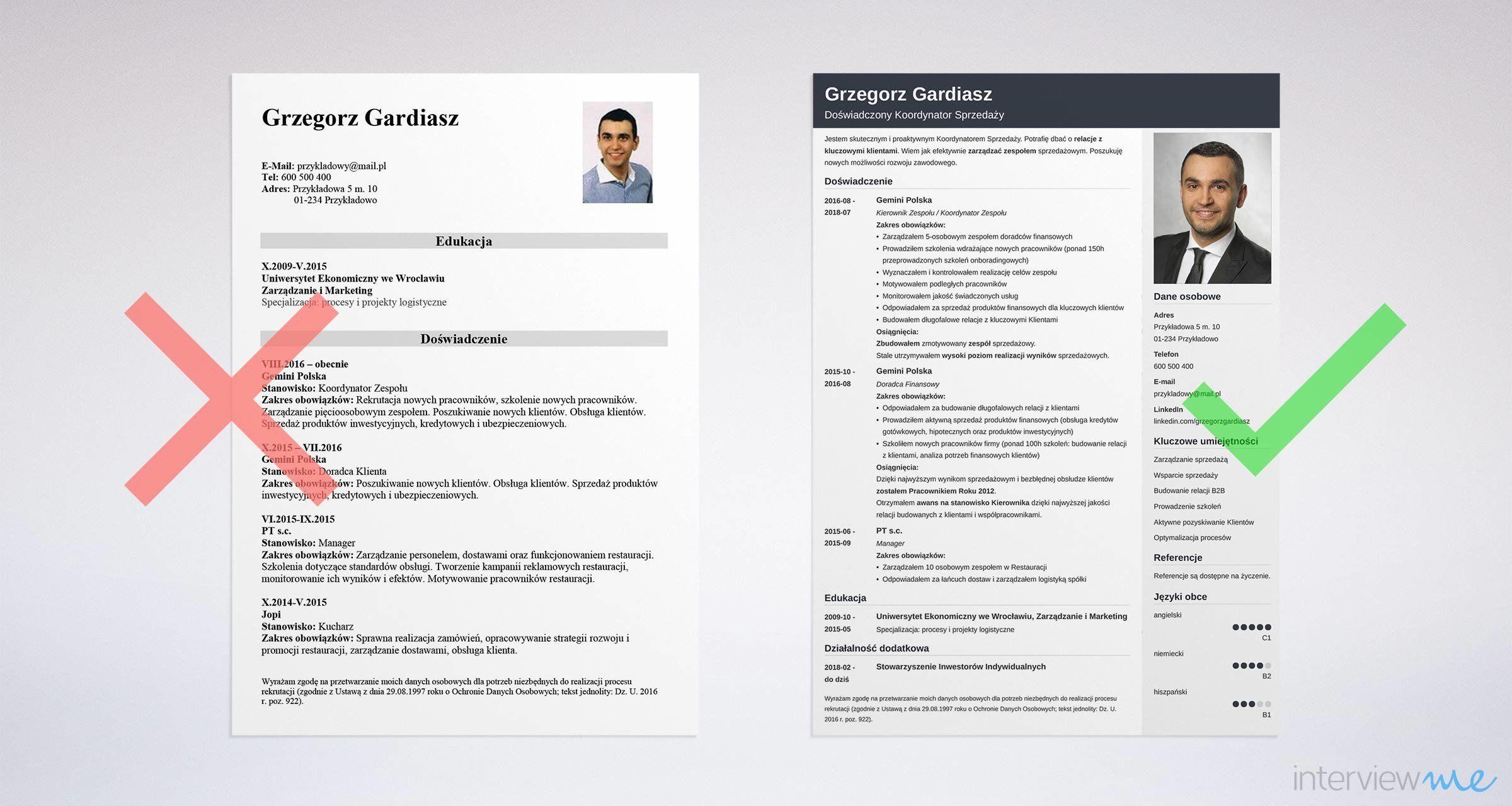 CV i list motywacyjny stolarza wzór, 7 porad jak napisać