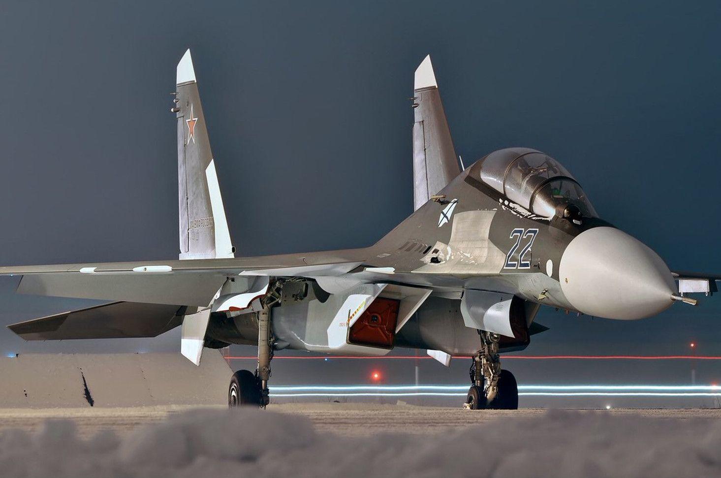 Обои Су-30см, двухместный, многоцелевой, российский. Авиация foto 17