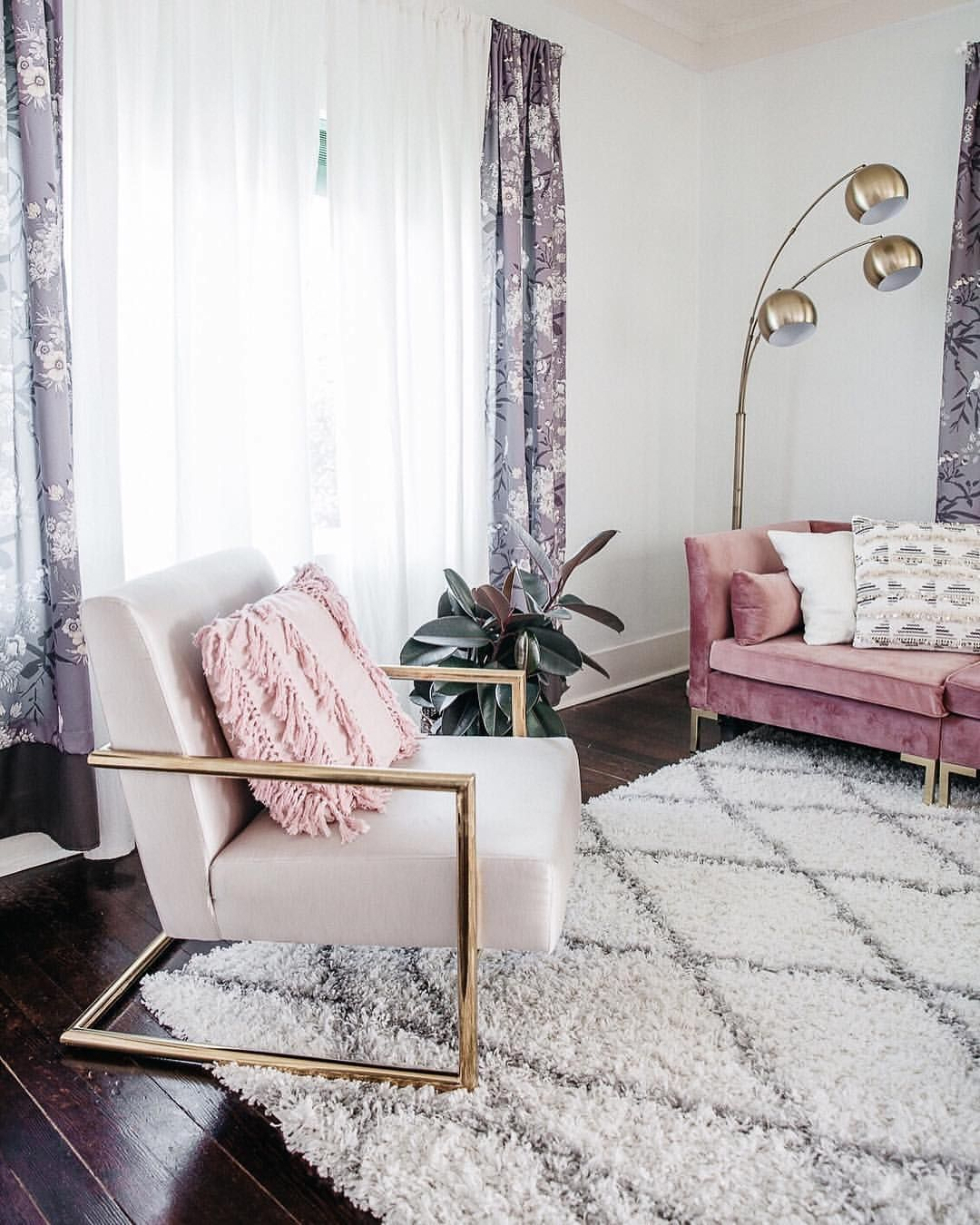 Ultra Luxe Bedroom Home Decor Inspiration Home Decor: Modern Glam Chic Style Living Room Gold Velvet Luxe Home