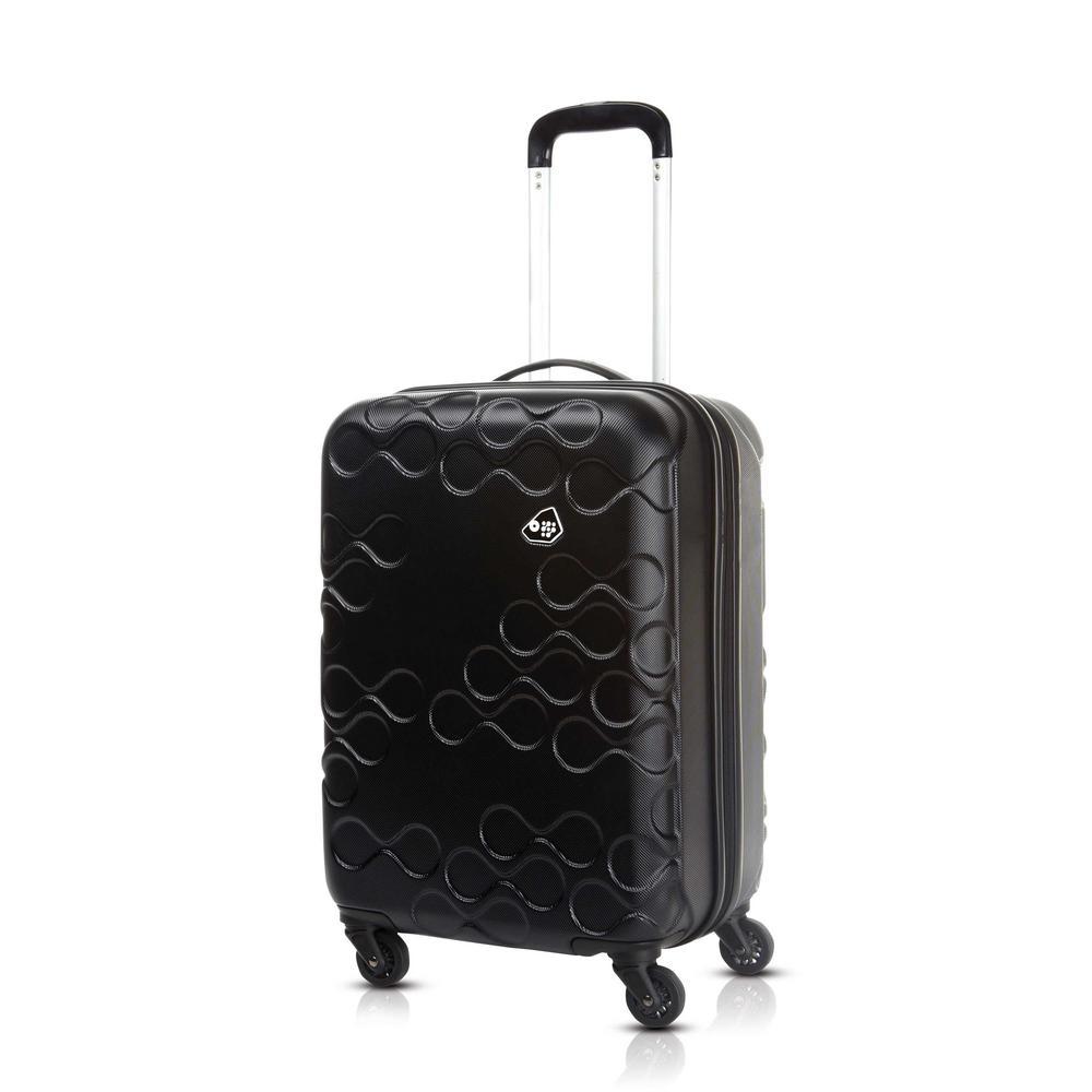 7555d8da8 Kamiliant Harrana Black 3-Piece Spinner Luggage Set | Products ...