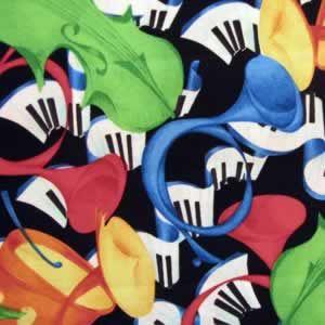 Piano Fabric Black 9 25 Yard 44 100 Cotton Fabric Character Disney Characters