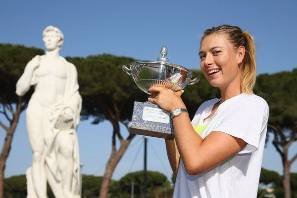 Maria Sharapova Photos: The Internazionali BNL d'Italia 2015 - Day Five