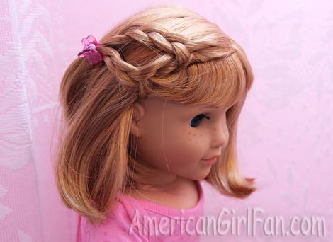 Doll Hairstyles Simple Hairstyles For Short American Girl Doll Hair  Ag Hair Care