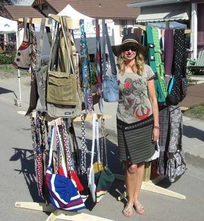 rags2bags by Laurel - Home Cathedral Village Arts Festival