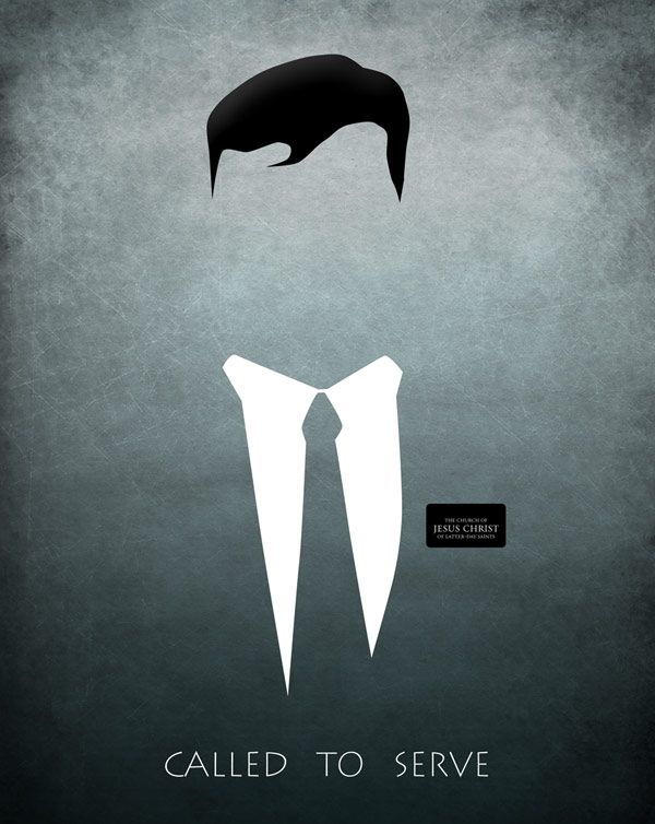 Minimalist LDS Missionary Plaque by Brent Borup. | My Artwork ...