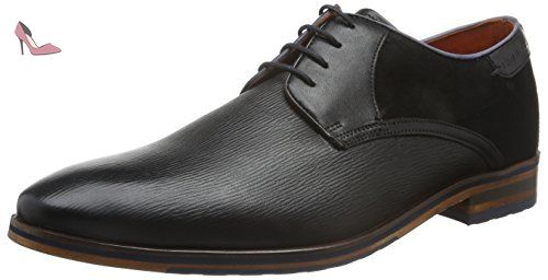Daniel Hechter 812207041100, Derbys Homme, Marron (Dark Brown 6100), 44 EU