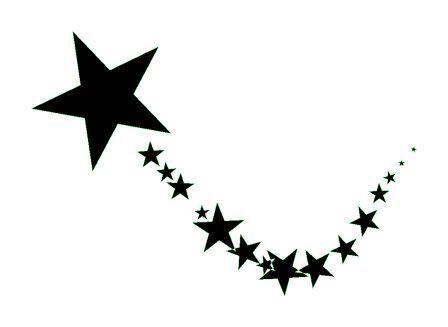 Etoile Filante Etoile Dessin Tatouage étoile Et Dessin