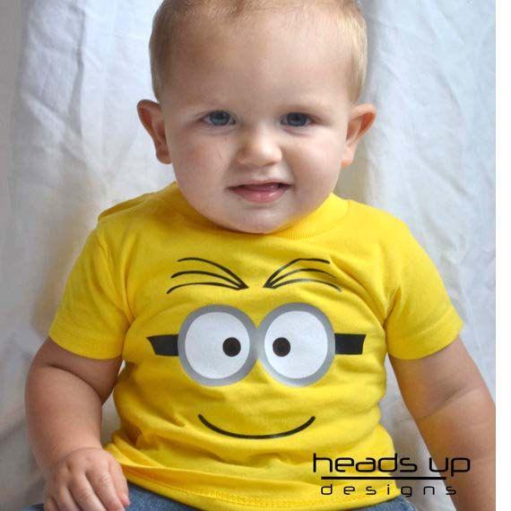 Minion Shirt Two Eyes Toddler - Baby Boy tshirt Minion - Onesie ...