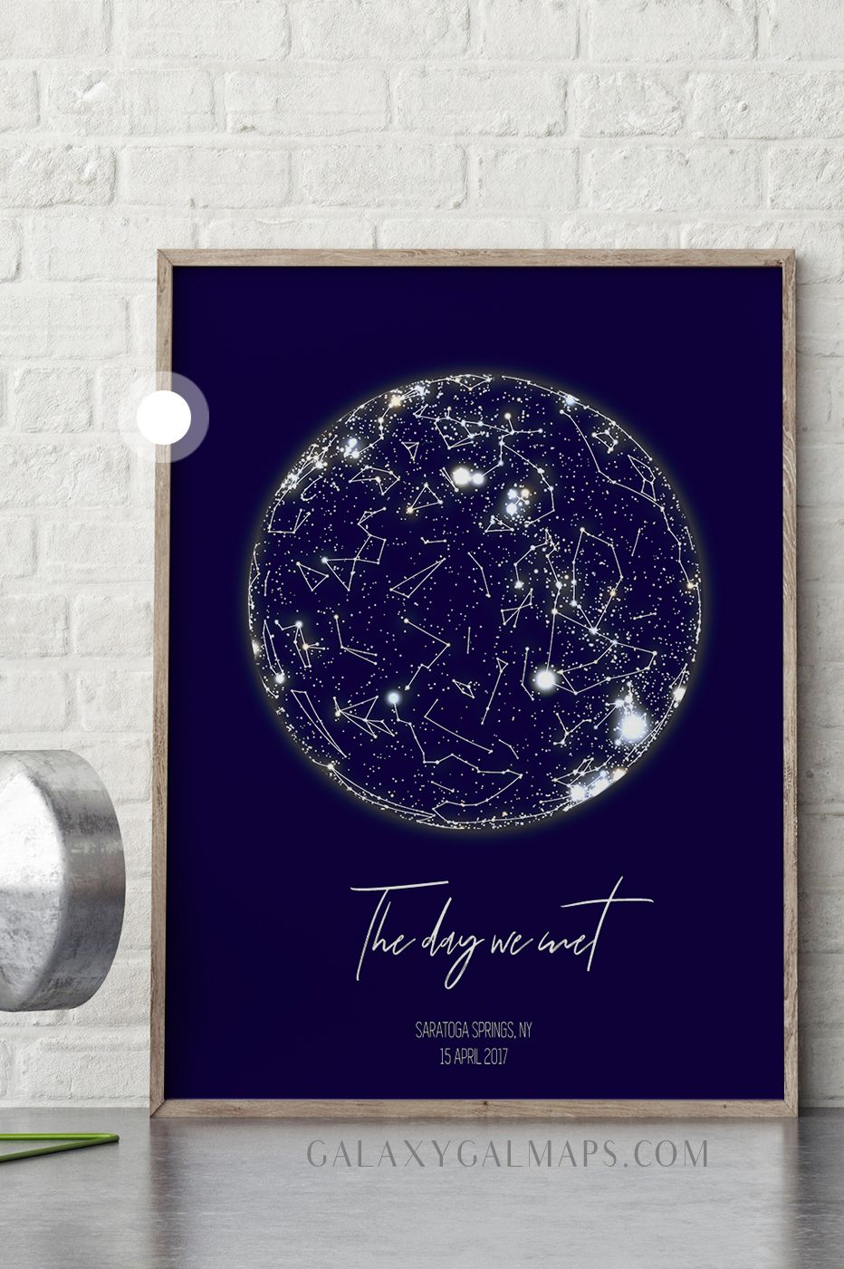 80e6a066bdc1 Personalized Star Map - 55th Anniversary Gift for Men 55 Year Women Present  Idea Him Her Wife Husband Wedding Couple Pillow Personalized Parents  Grandma ...