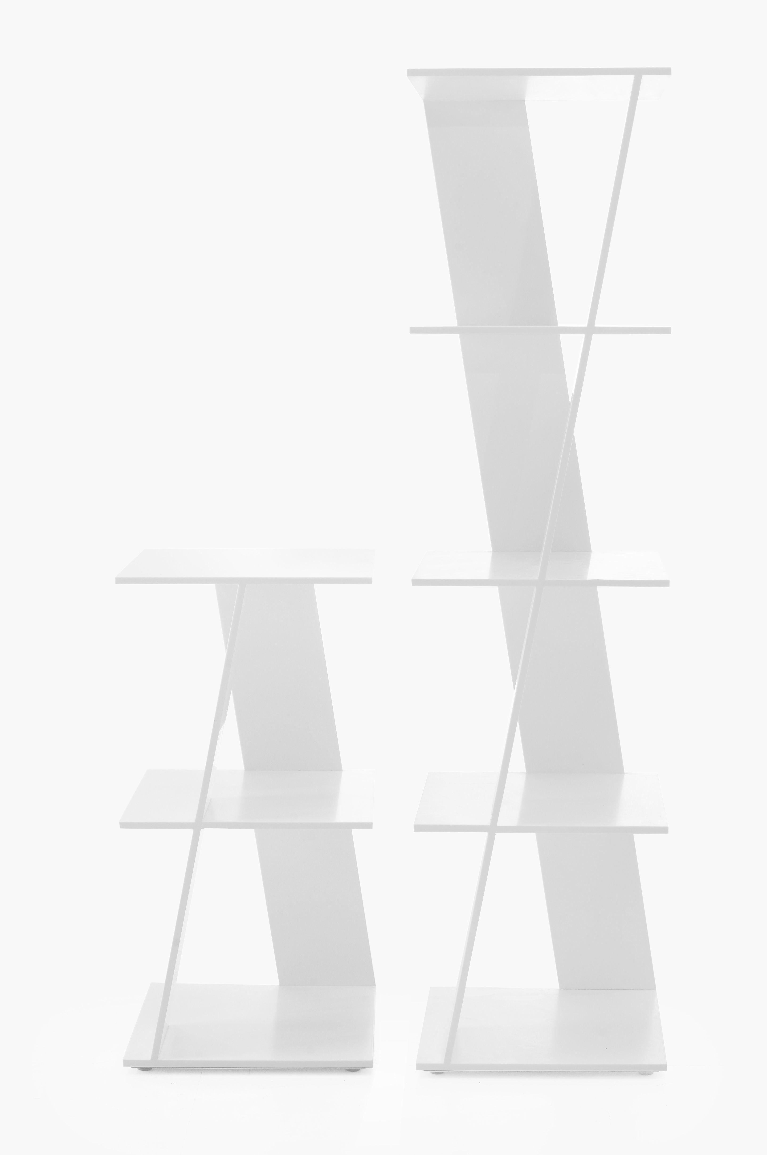 Cerco Bookshelf Design Federico Churba Material Hi Macs Lg  # Muebles Hi Macs