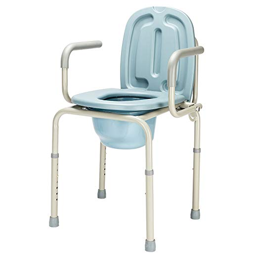 Amazon Com Mefeir 450lbs Drop Arm Medical Bedside Commode Chair