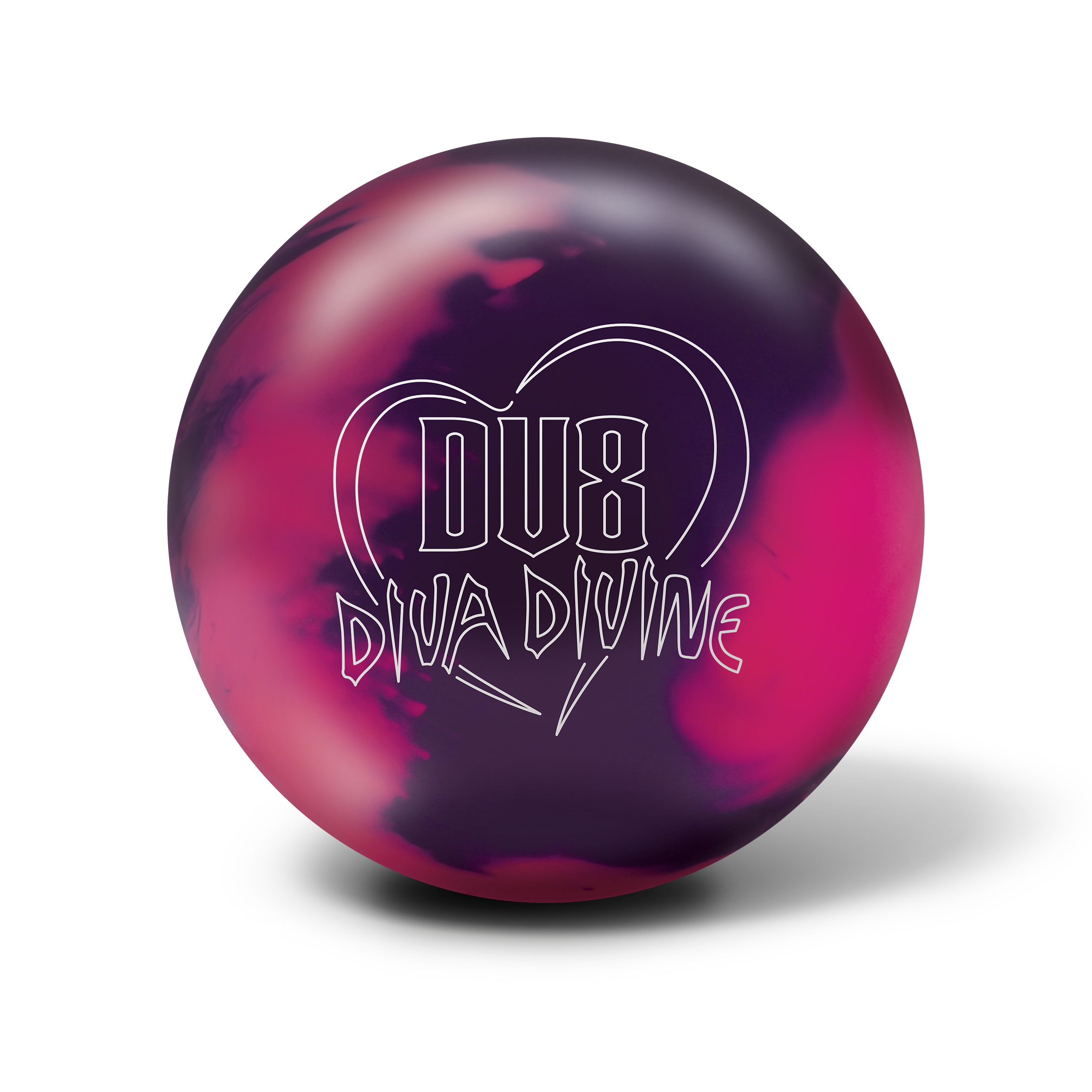 It Is All About The Diva New Diva Divine From Dv8 Has Great Looks And Great Performance Bowling Balls Bowling Ball Bowling