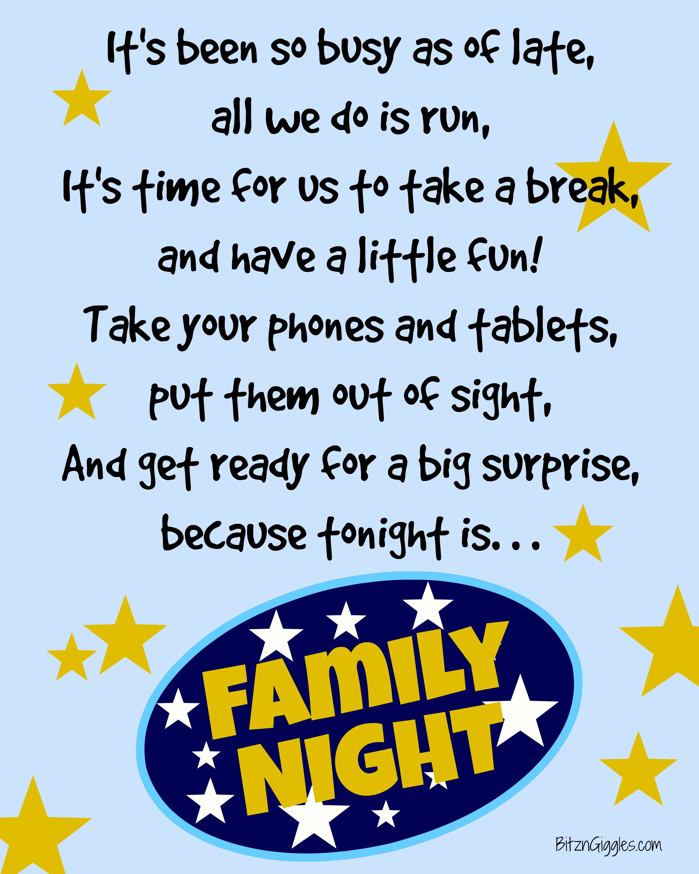 For Family Pictures 50 Ideas For Family Night Time Spent With Family Is So Important