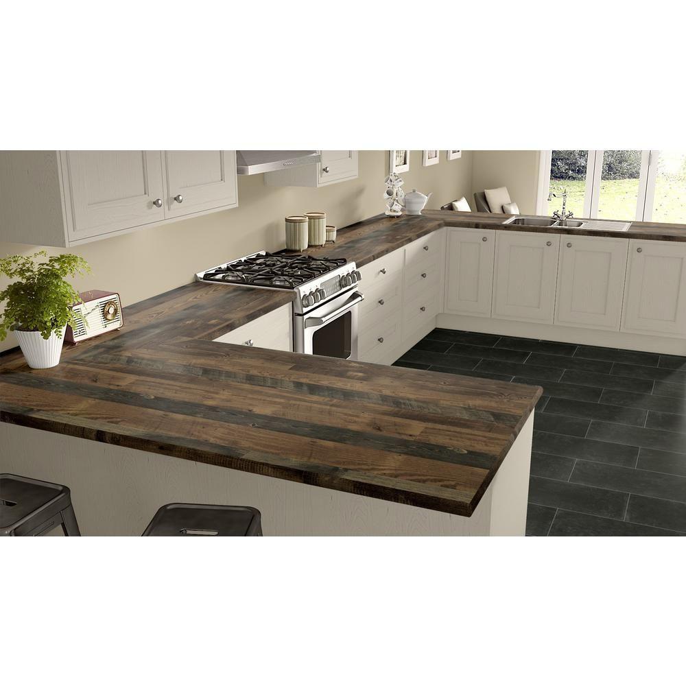 Home Depot Pine Kitchen Cabinets: Wilsonart 3 In. X 5 In. Laminate Countertop Sample In