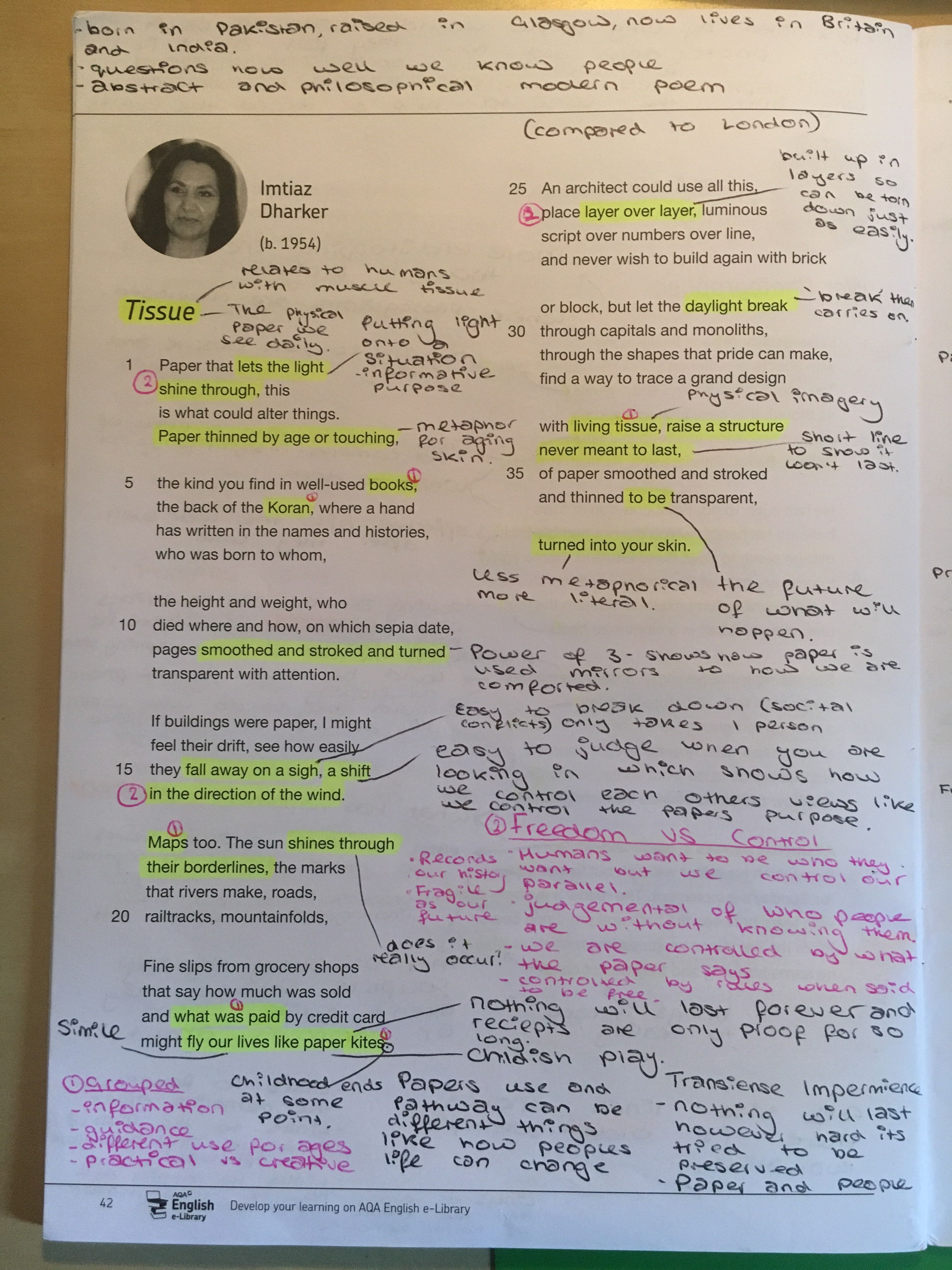 Tissue Gcse Poem English Literature Ozymandia By Percy Bysshe Shelley Analysis