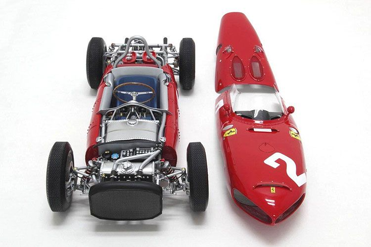 Ferrari 156 F1 Sharknose 1961 Championship Winner Scale Model