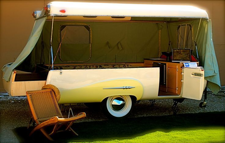 25 Stunning Trailers Homes With 4 Wheels Vintage Campers