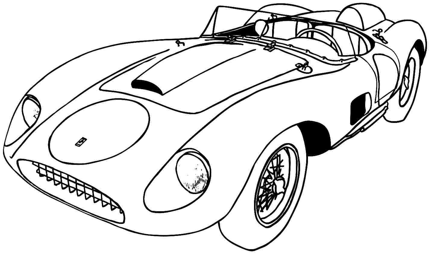 34 Best And Free Printable Sports Coloring Pages Cars Coloring Pages Car Colors Used Sports Cars