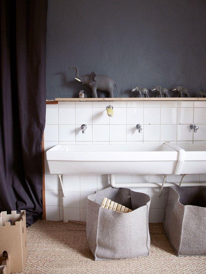 Grappige speelse #badkamer