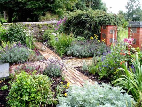 Charmant Victorian Garden After, Landworks Garden Design And Landscaping In West  Wales, Ceredigion, Cardigan And Pembrokeshire
