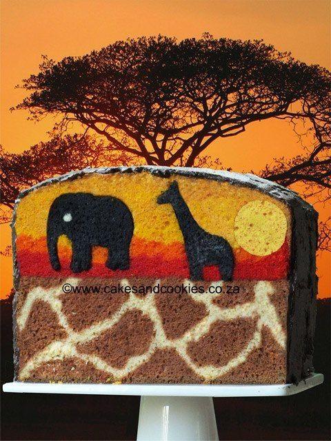 Oh Wow! Warten, bis Sie, die Überraschung in dieser Kuchen sehen...