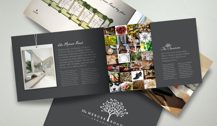 Danube Express Brochure Design  Luxury Holiday Company Brochure
