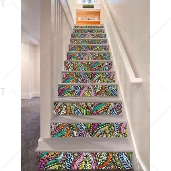Best Twinkledeals Kitchen Wall Stickers Stair Stickers Stairs 640 x 480