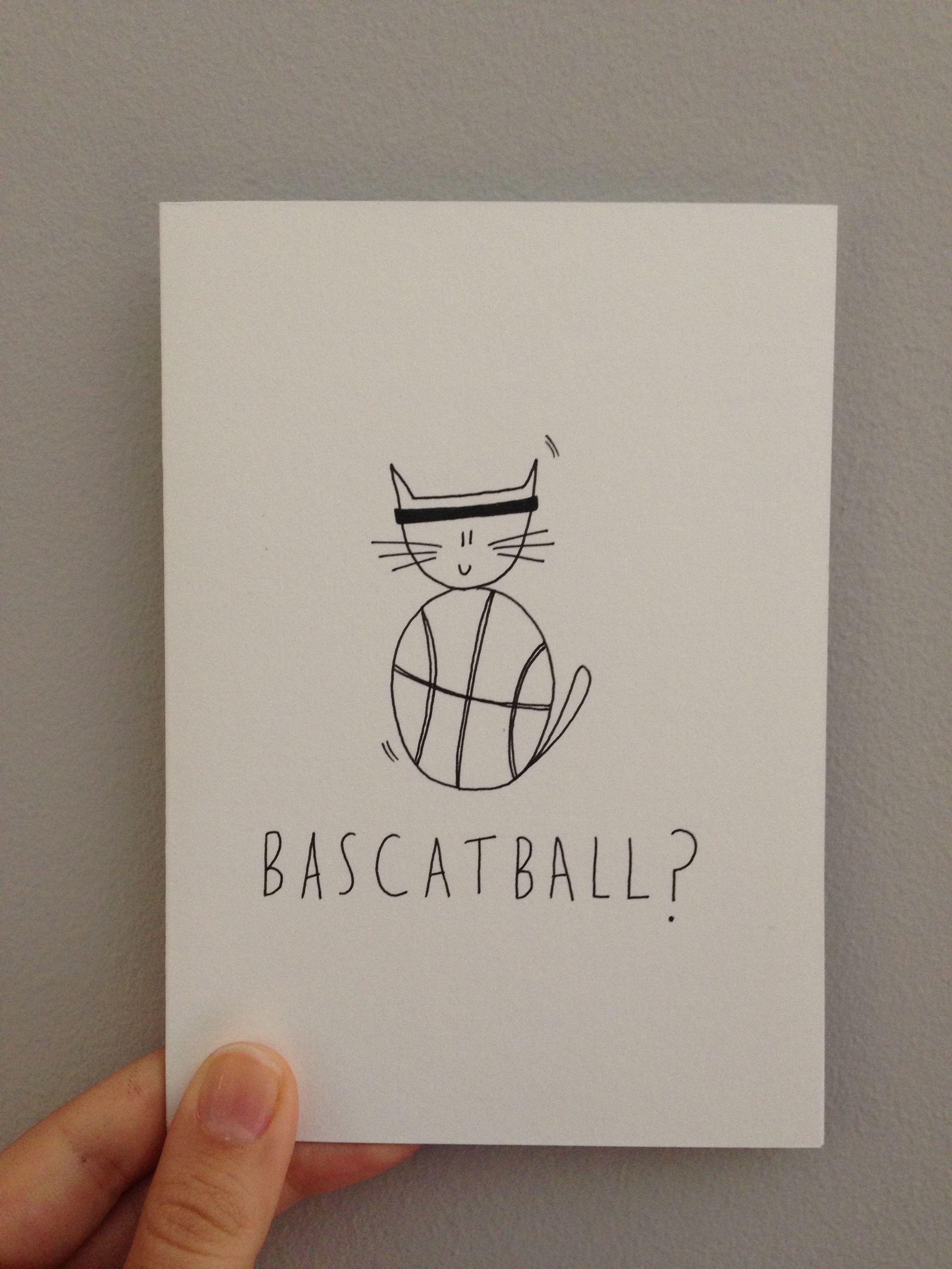 Custom made greeting card bascatball linseymouse linseymouse custom made greeting card bascatball linseymouse m4hsunfo