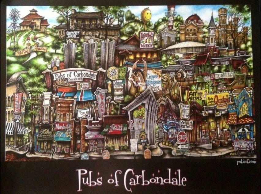 Carbondale strip bars