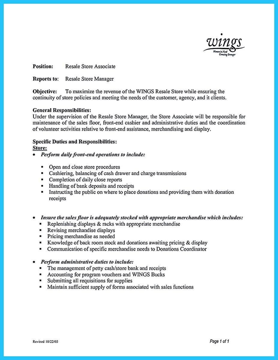 cool Crafting a Great Assistant Store Manager Resume, Check more at ...