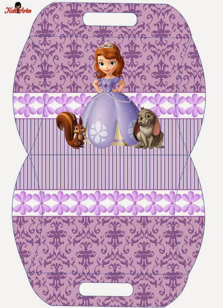 resultado de imagem para molde de caixa milk princesa sofia