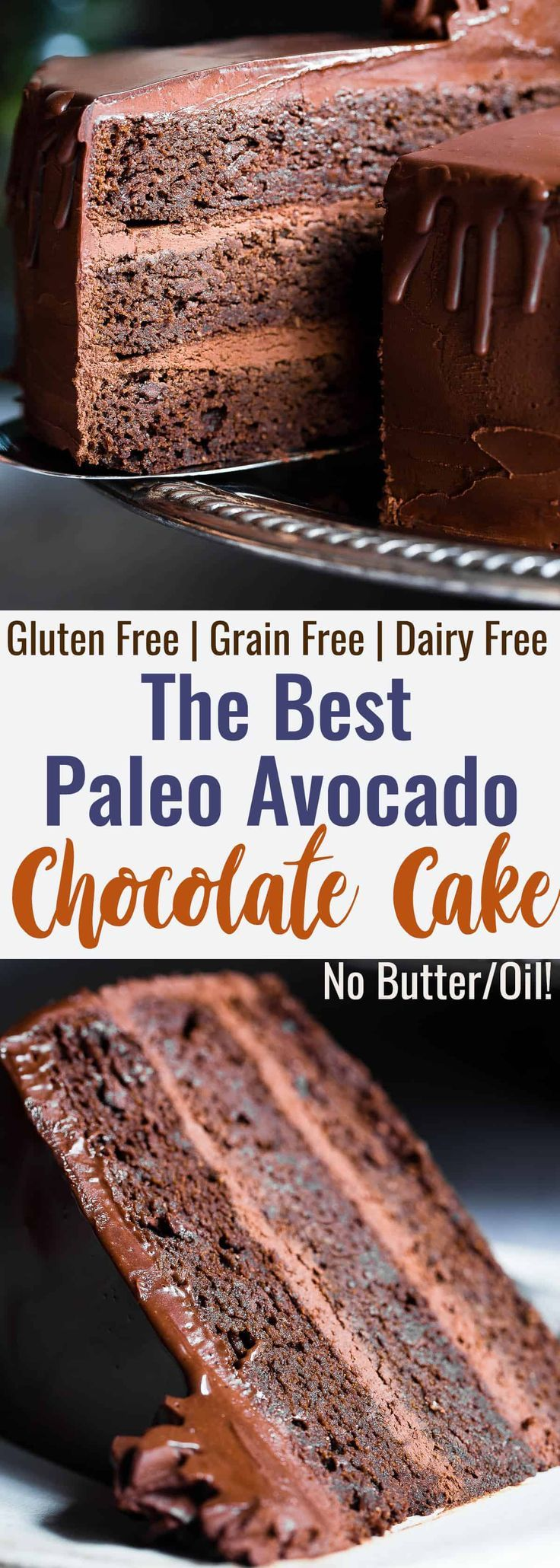 The Best Paleo Chocolate Avocado Cake This Dairy And Gluten Free