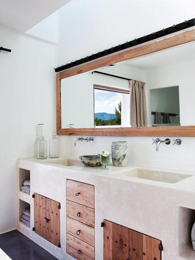 Une maison hommage à Ibiza FRANCE Pinterest Salle de bains - Prix Gros Oeuvre Maison