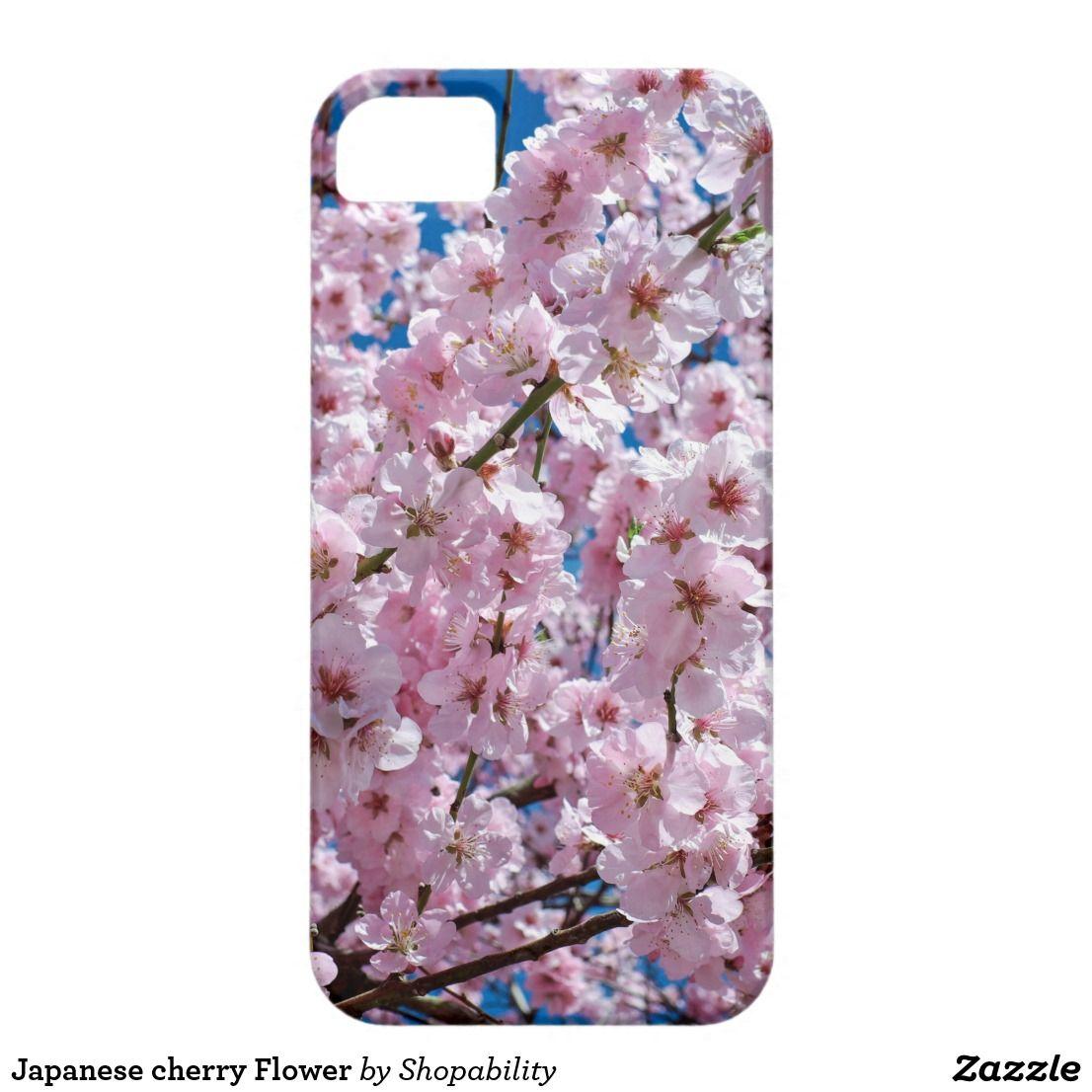 Japanese cherry flower iphone ses case