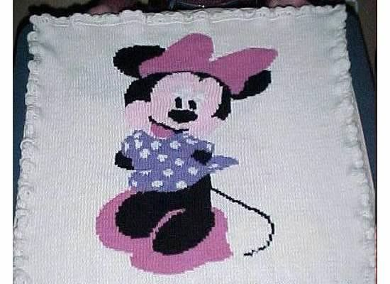 Intarsia Knit Minnie Mouse ~~ Finished this several months ...