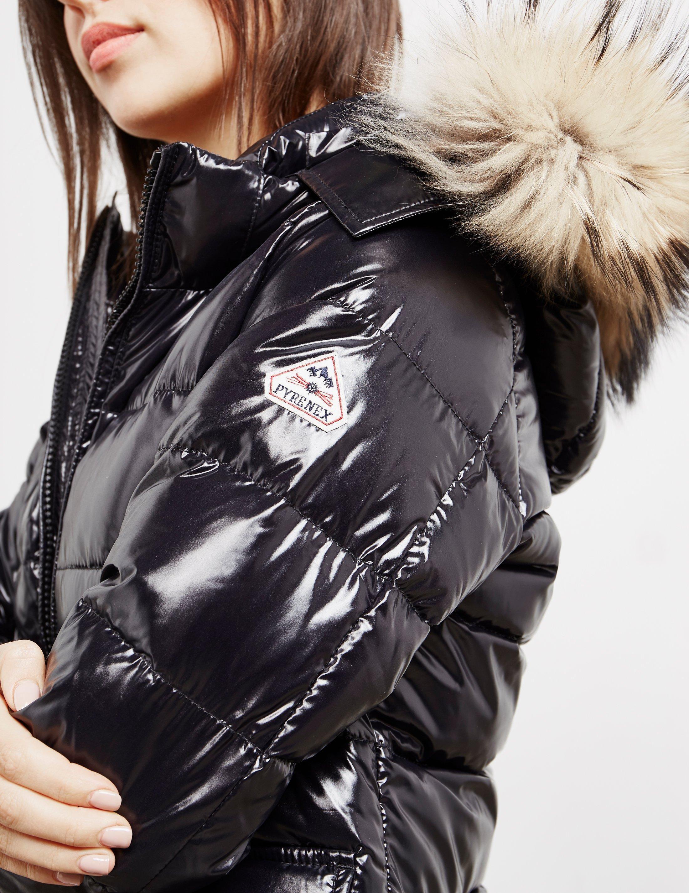 02d37d42e699 Lyst - Pyrenex Womens Authentic Shiny Jacket Black in Black - Save  1.623815967523683%