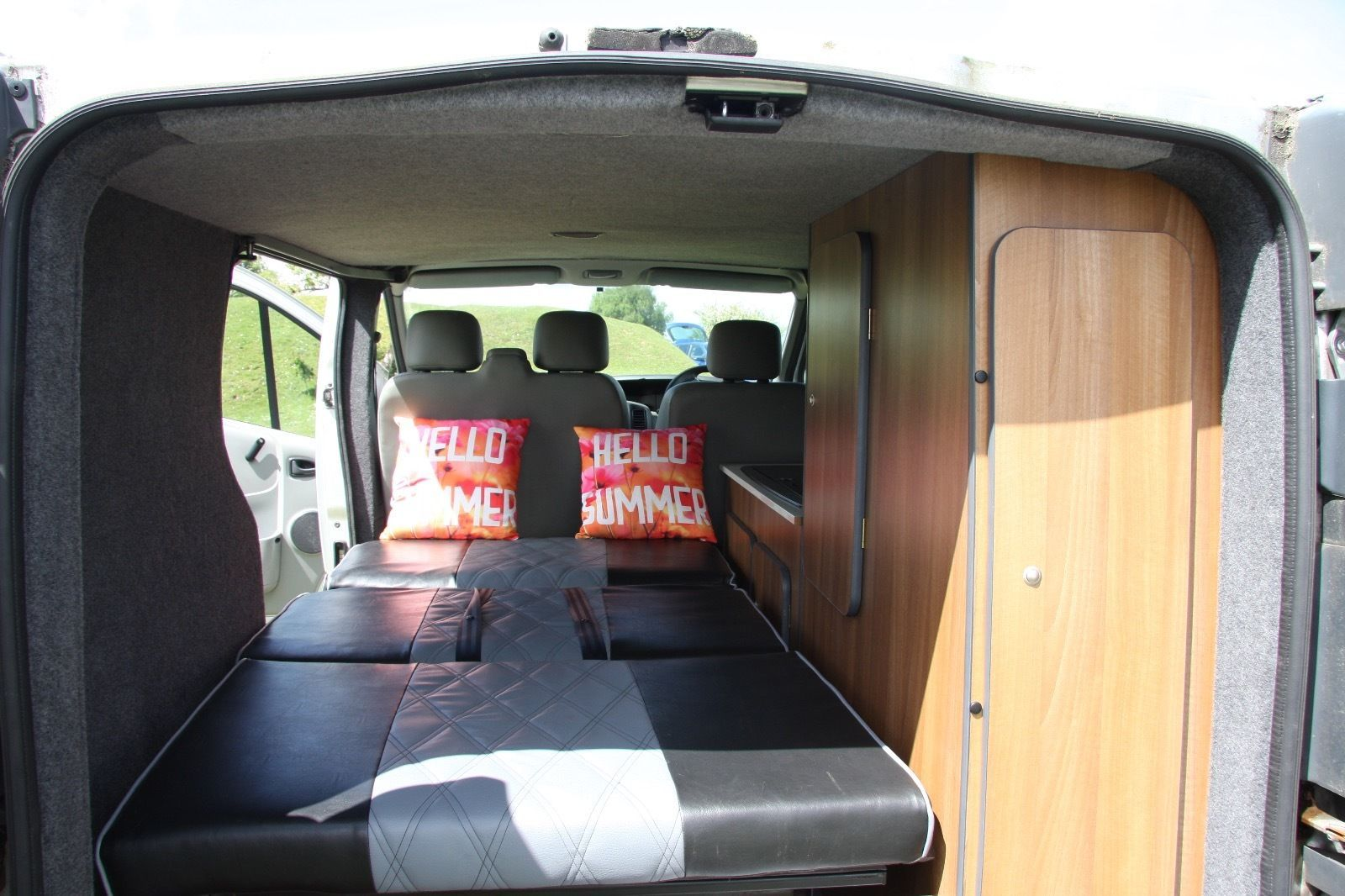 The van has been converted to a very high standard using quality