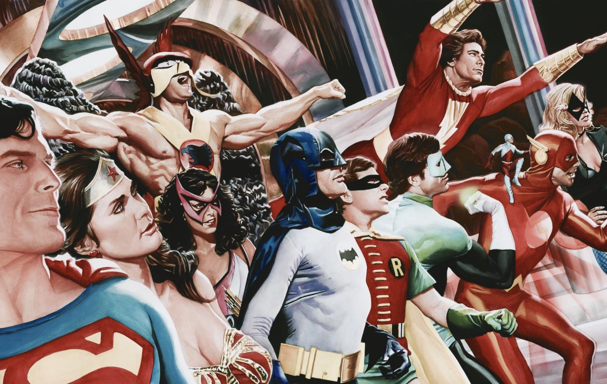 Image result for alex ross legends of the superheroes