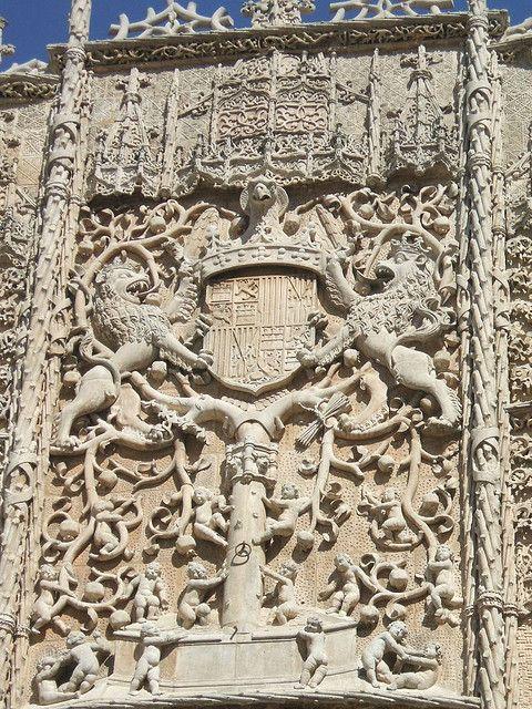 Fachada del colegio de San Gregorio