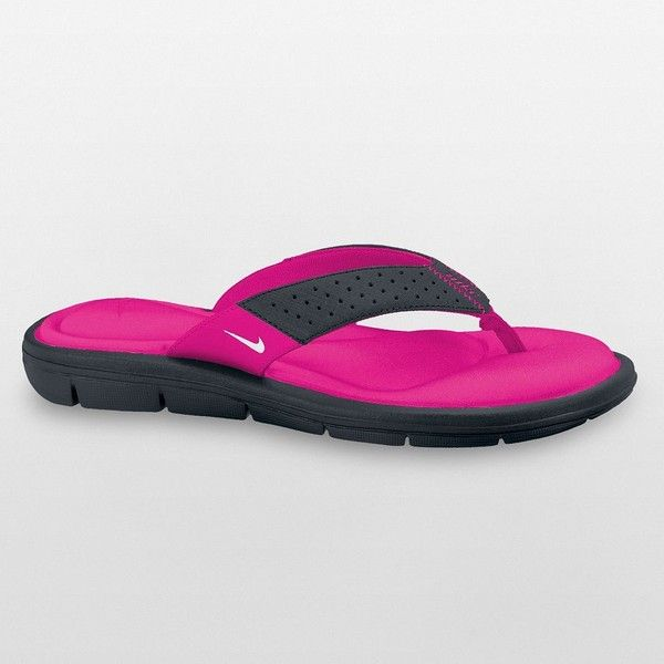 439f39f23 Nike Comfort Thong Sandals - Women ( 32) ❤ liked on Polyvore ...