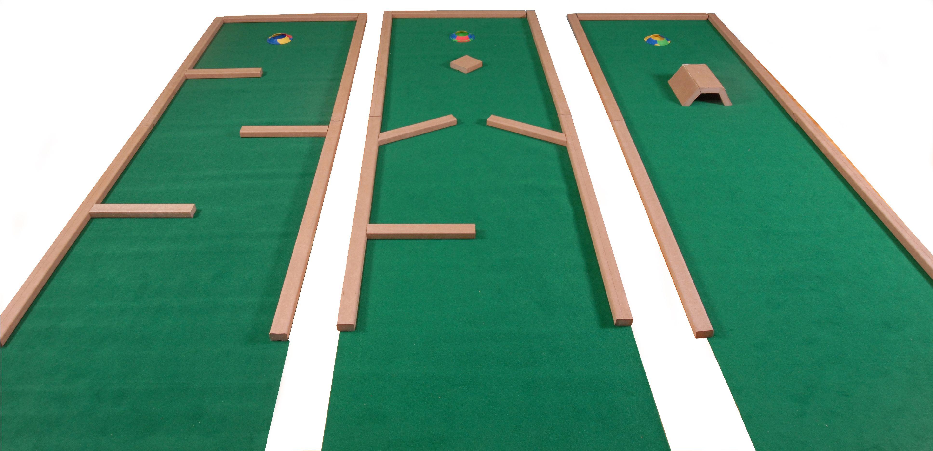 Homemade Mini Golf Ideas Home Par Putt Miniature Golf 9 Hole Set Mini Golf Set Outdoor Parties Miniature Golf