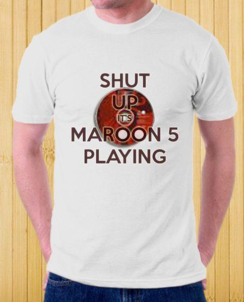 Maroon 5 UNISEX Tees Maroon 5 music T-shirt from FashionistaCasual by DaWanda.com