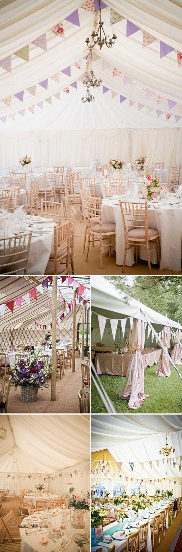 5 ideas para decorar la carpa el d a de tu boda wedding - Decoracion de carpas para bodas ...
