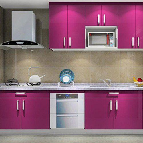 Papel pintado adhesivo para muebles de cocina y baño PVC.   Papel ...