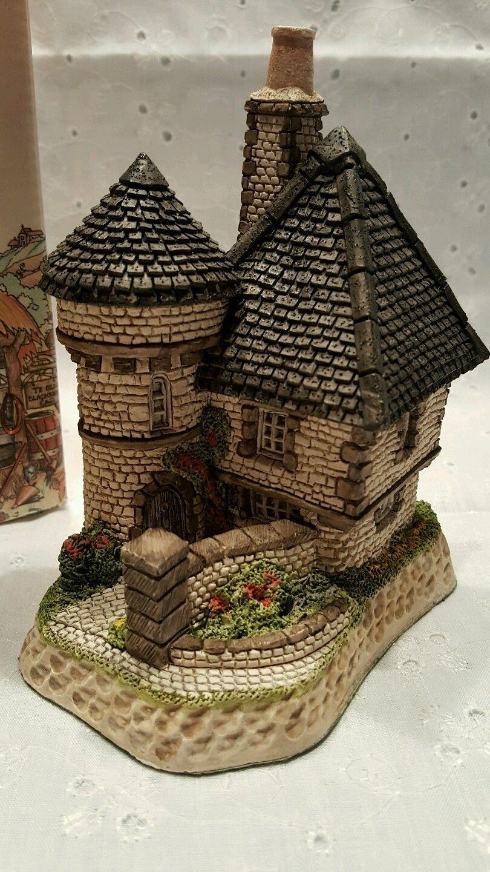 David Winter Cottage Scottish Collection Gatekeepers Coa Christmas Village Miniature Houses Cottage